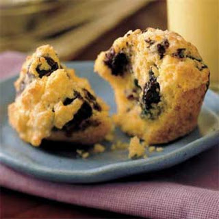 Blueberry-Lemon Muffins.