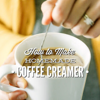 How to Make Homemade Coffee Creamer.