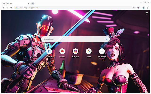 New Tab - Borderlands 3