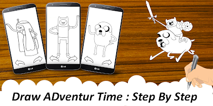 😍Learn To Draw:Adventure Time - screenshot thumbnail 01