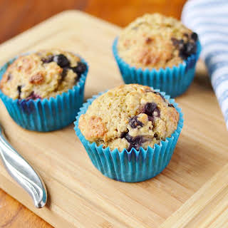 Blueberry Muffins With Quinoa And Wheatgerm.