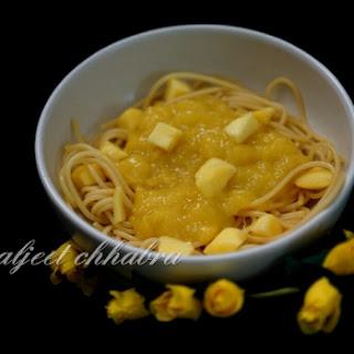 Dessert Spaghetti Recipes.