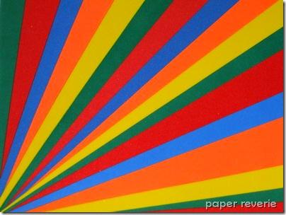 Rainbow Foam Fan