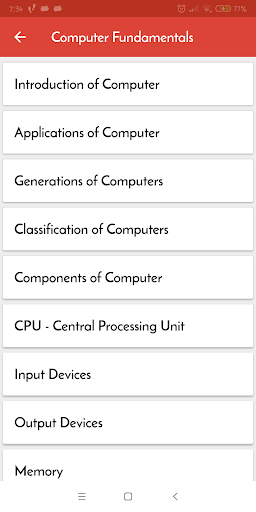 Computer Guide : Learn Computer Basics 1.6 screenshots 3