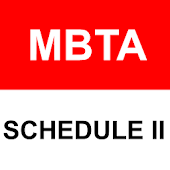 MBTA Realtime Schedule 2