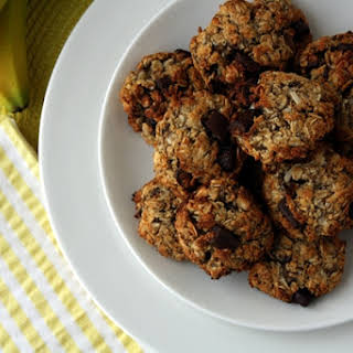 Banana Almond Meal Cookies.