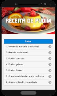 Receita de Pudim - náhled