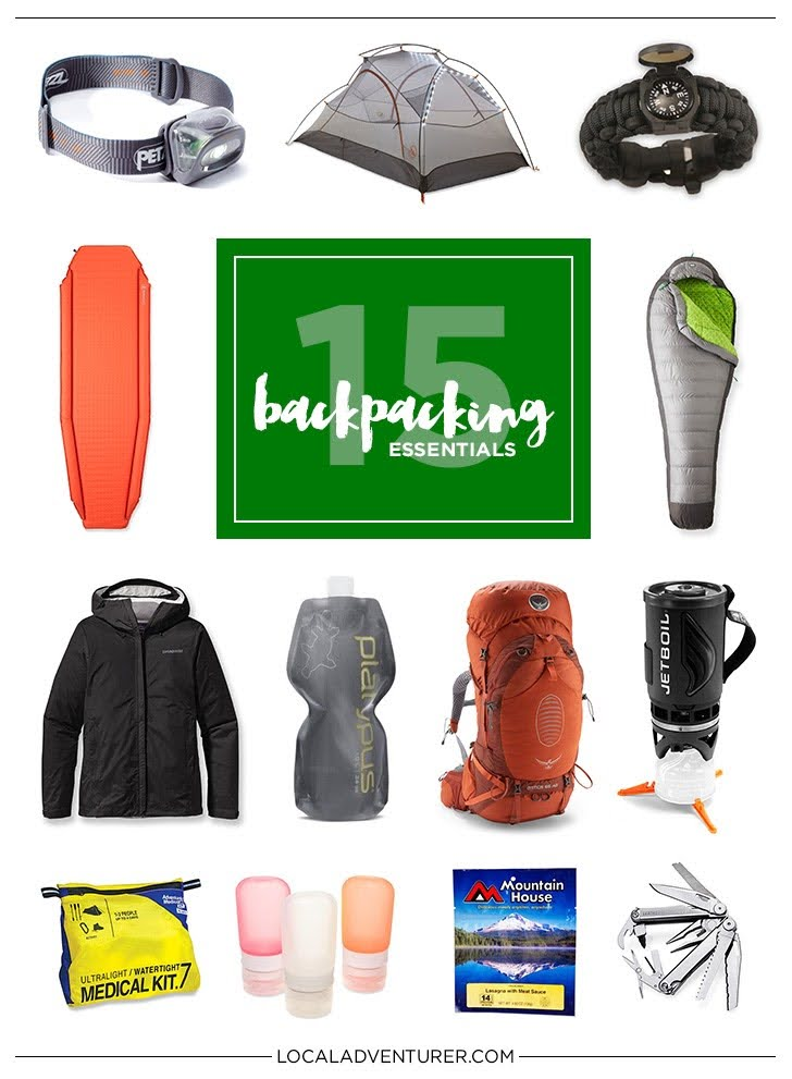 15 Backpacking Essentials for the Practical Traveler.