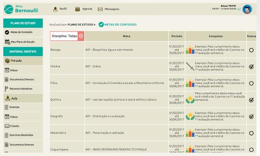 (APK) تحميل لالروبوت / PC Meu Bernoulli - Aluno تطبيقات screenshot