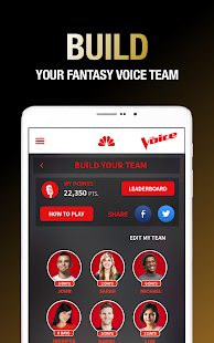 The Voice Official App on NBC Screenshot