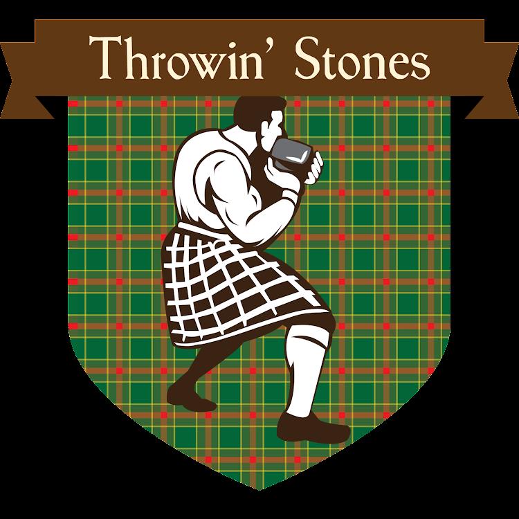 Logo of Button Throwin' Stones