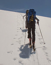 Photo: mountain guide for ski touring in NZ