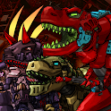 Dino Robot Battle Field - Armoured Dinosaurs War icon