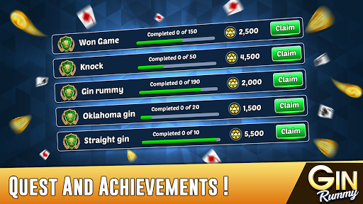 Gin Rummy - Best Free 2 Player Card Games screenshots 15
