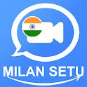 Milan Setu - Video Conferencing App icon