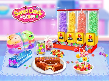Sweet Candy Store! Food Maker- screenshot thumbnail