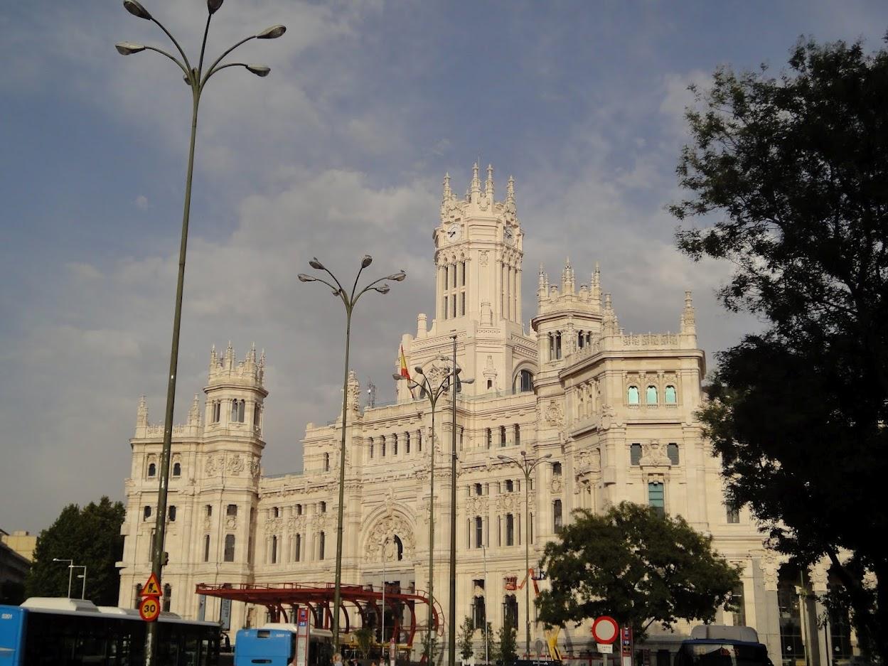 Palais de la Communication à Madrid