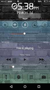 OS 7 Lock Screen - náhled