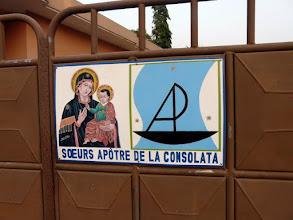 Photo: Au noviciat de soeur Laëtitia, à Akodéha, non loin de la source thermale de Possotomé
