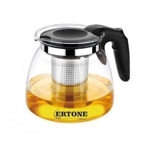Ceainic din sticla, filtru din inox, capacitate 1100 ml, Skys Ertone