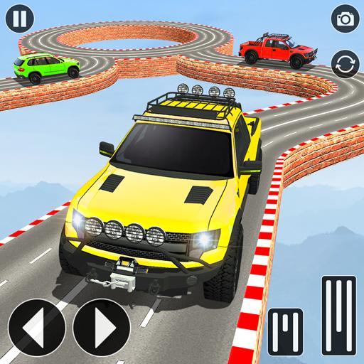 Mega Ramp Jeep Stunts Racing - Free Car Games 2020