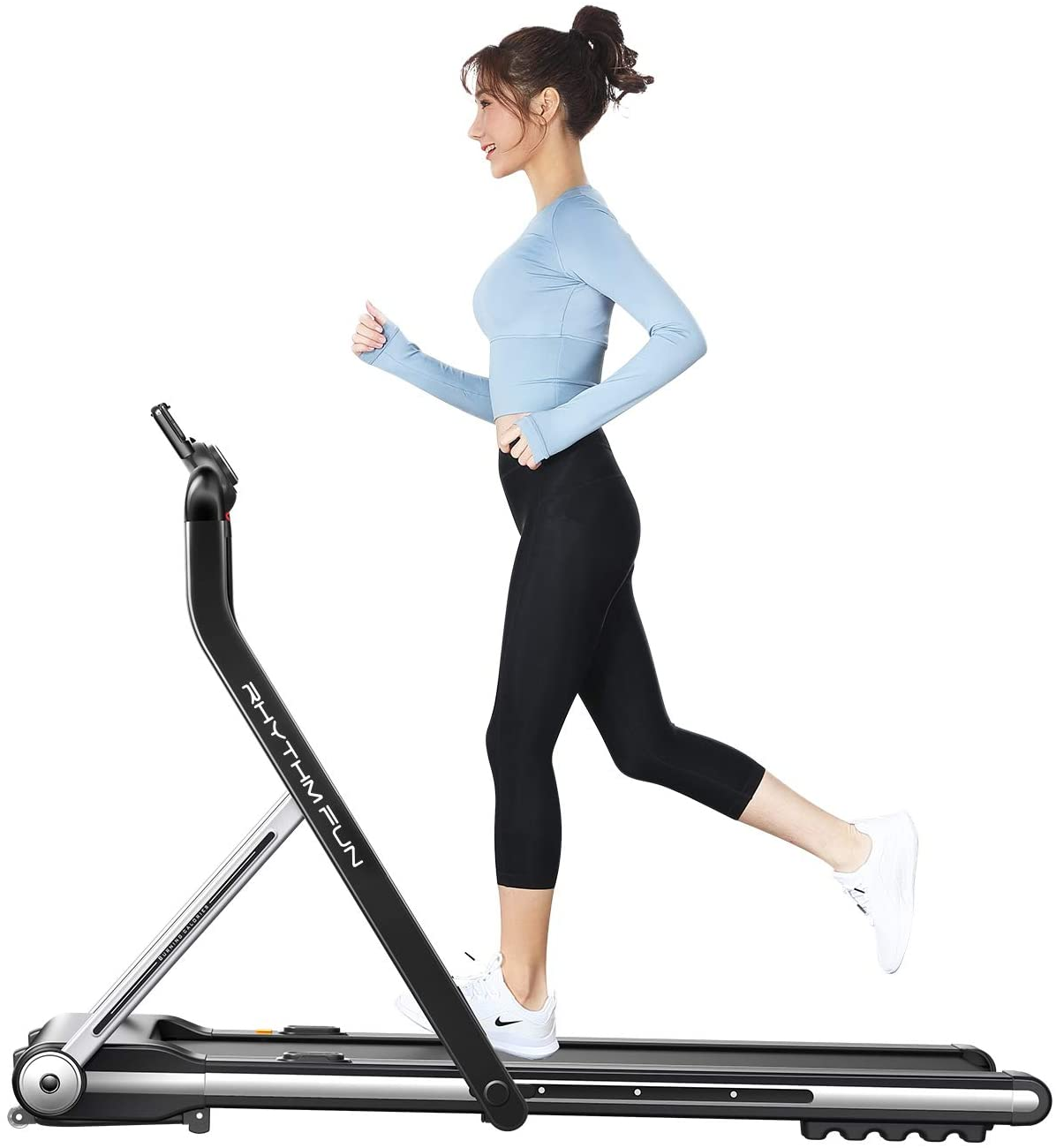 RHYTHM FUN Walking Folding Treadmill