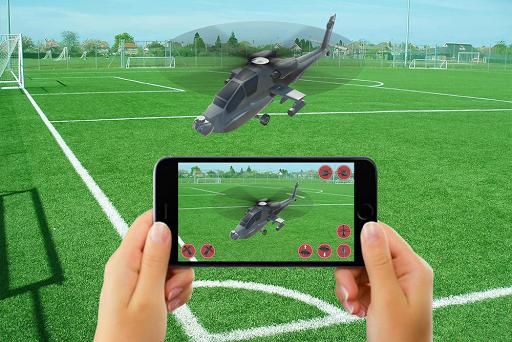 RC HELICOPTER REMOTE CONTROL SIM AR apktram screenshots 10