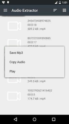 Audio Extractor- MP3 Converter