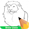How To Draw Lions