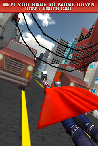 3D Super Hero Fly Surfers