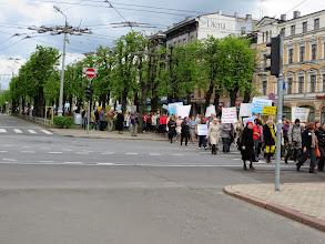 Photo: A teachers' protest