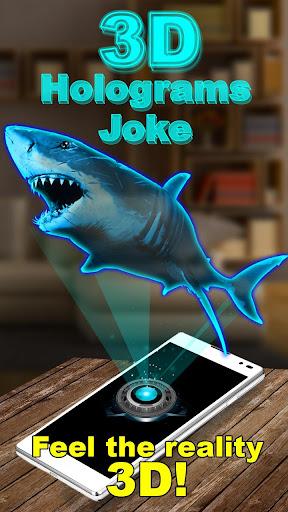 3Dホログラムジョーク