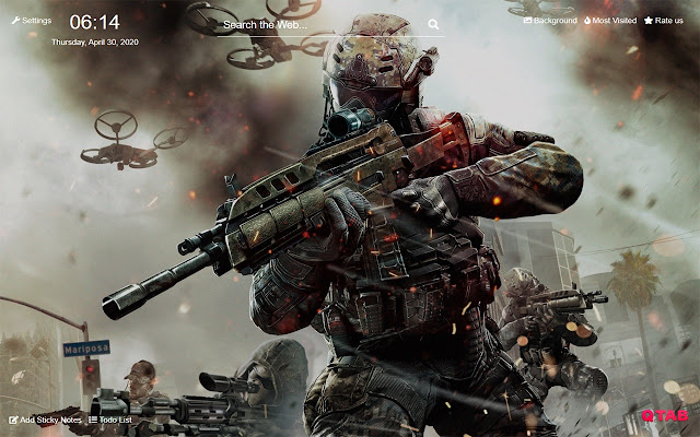 Call Of Duty Warzone Wallpapers New Tab Hd