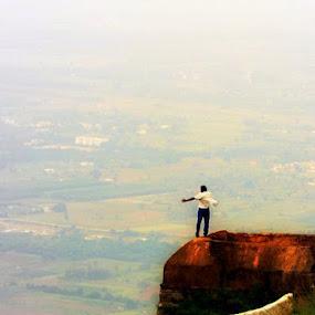 4,851 ft  above Sealevel by S Nair - City,  Street & Park  Neighborhoods ( nandi hills )