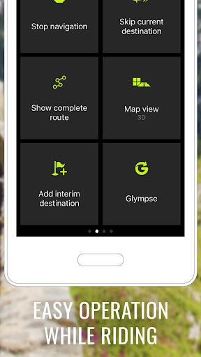 NAVIGON Cruiser - Motorcycle Navigation  screenshots 3