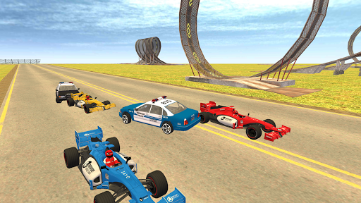 Formula Car Racing u2013 Police Chase Game 1.19 screenshots 1