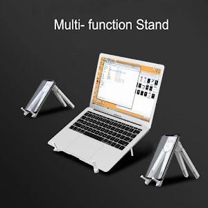 Suport pliabil pentru laptop, telefon, tableta, carte