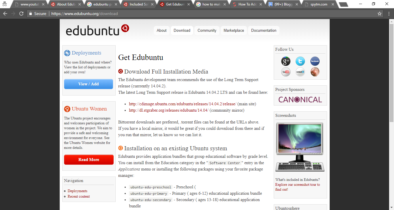 How to install Edubuntu in Windows through oracle VM