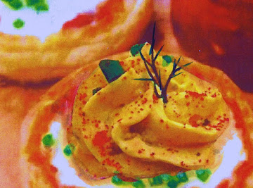 Deviled Huevos Rancheros In A Nest Recipe