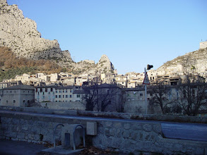 Photo: The medieval village dates from the 11th century.