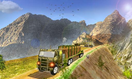 陸軍貨運卡車運輸