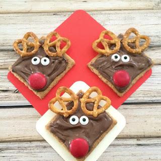 Reindeer Grahams Cookie.