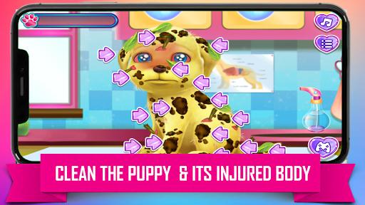 Princess Puppy Care : Pet Caring & Dress Up android2mod screenshots 2