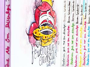 Photo: Il·lustracions de Montse Bugatell per una sèrie de cobertes pel llibre de relats breus Perdonin que no em disculpi