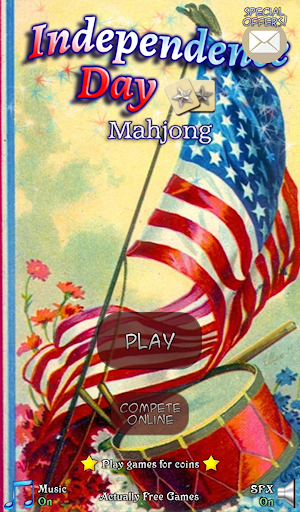 Mahjong: Independence Day|玩棋類遊戲App免費|玩APPs