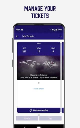 Baltimore Ravens Mobile screenshot 3