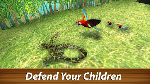 ud83dudc26 Wild Parrot Survival - jungle bird simulator! 1.2.1 screenshots 12