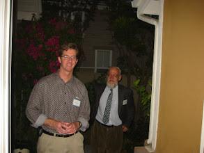 Photo: Professors Craig McKenzie and Brian Skyrms