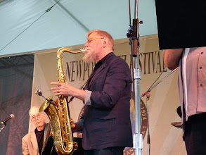 Photo: Lew Tabakin withGeorge Wein All-Stars