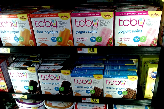 Photo: The TCBY Yogurt Swirls bars were some of the first TCBY products available at my Walmart. I was so excited to see them! When I got home from shopping that day I was all excited to tell my husband. We spent many dates getting TCBY for dessert before our local shop closed. I want to try the Orange & Vanilla bars because that is one of my favorite combinations! I love orange!